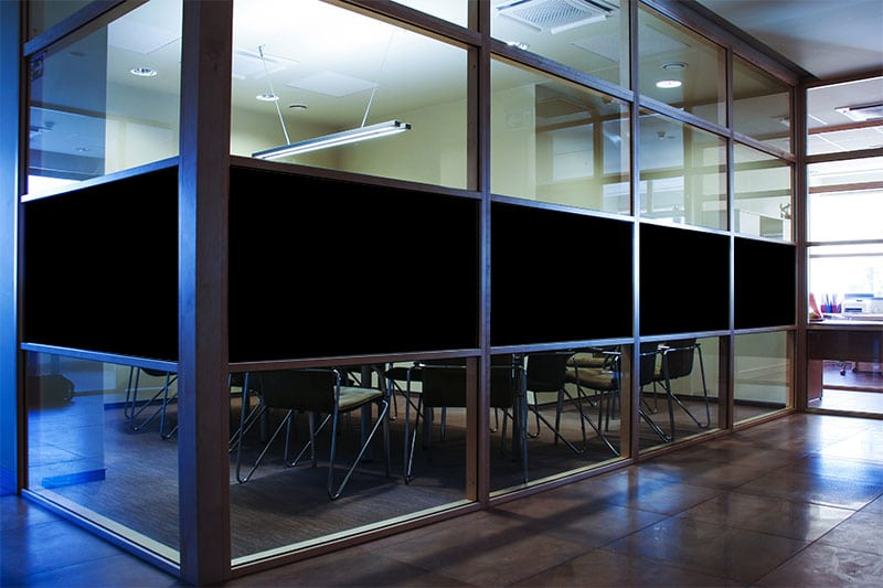 black out window film from scorpion Canada